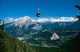 Banff Gondola 2, Banff View
