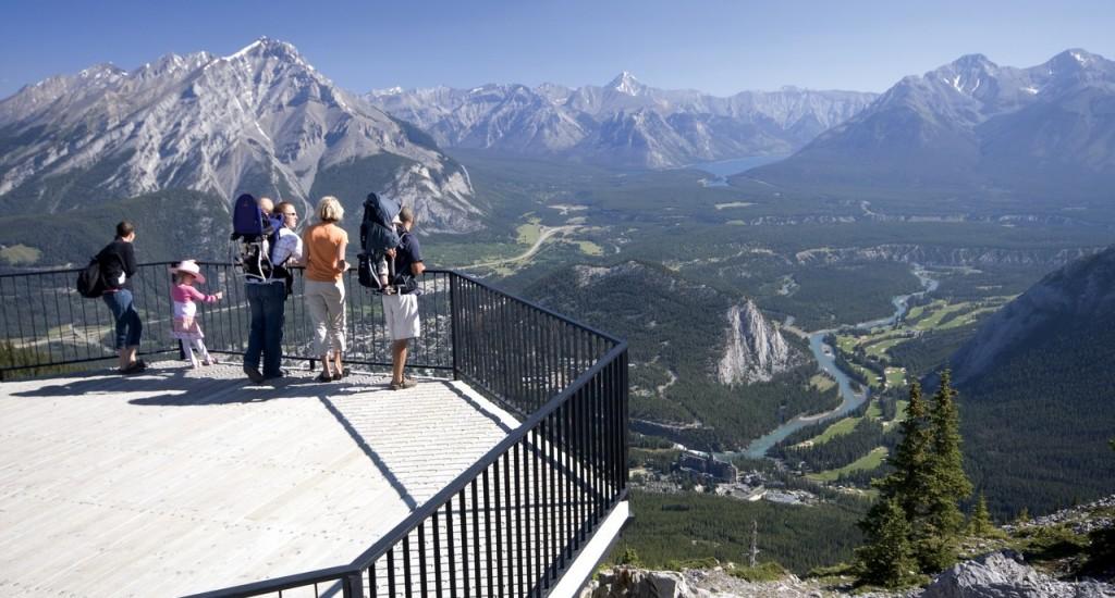 Banff Gondola 9, Family Banff Skywalk